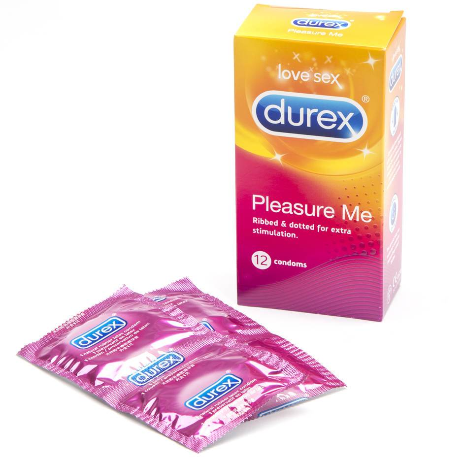 Durex Pleasure Me Condoms (12 Count)
