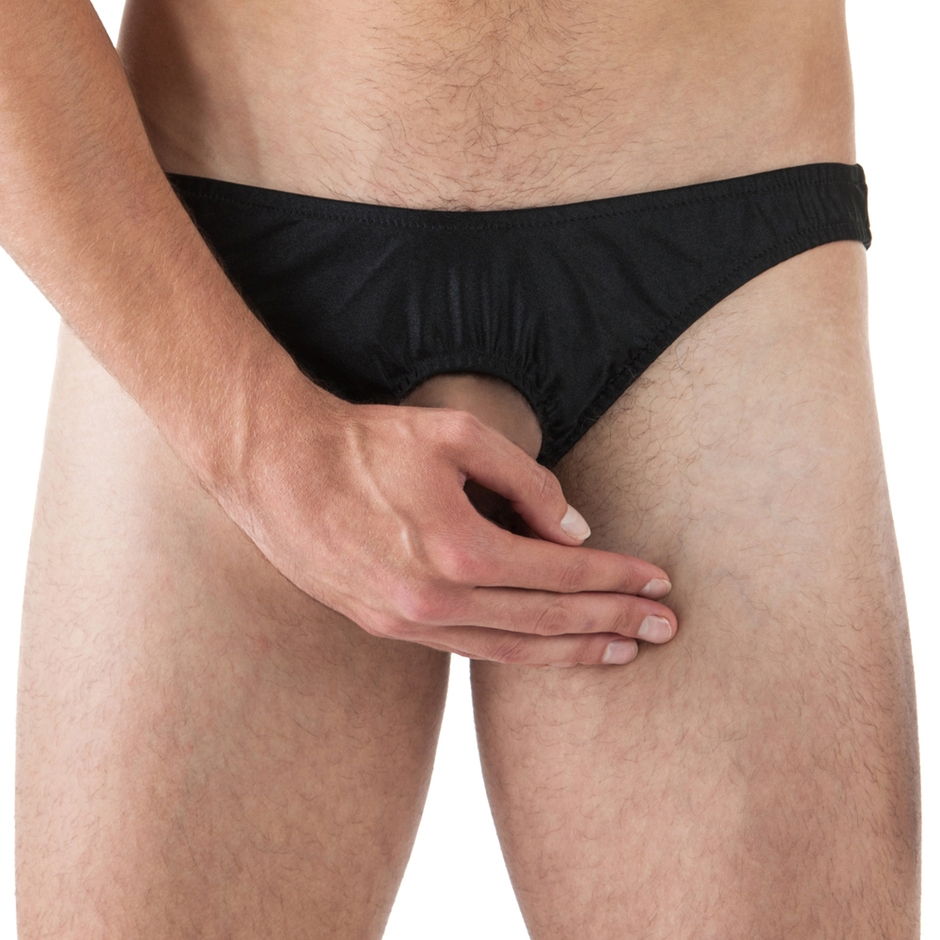 Male Power Pouchless Open Front Briefs