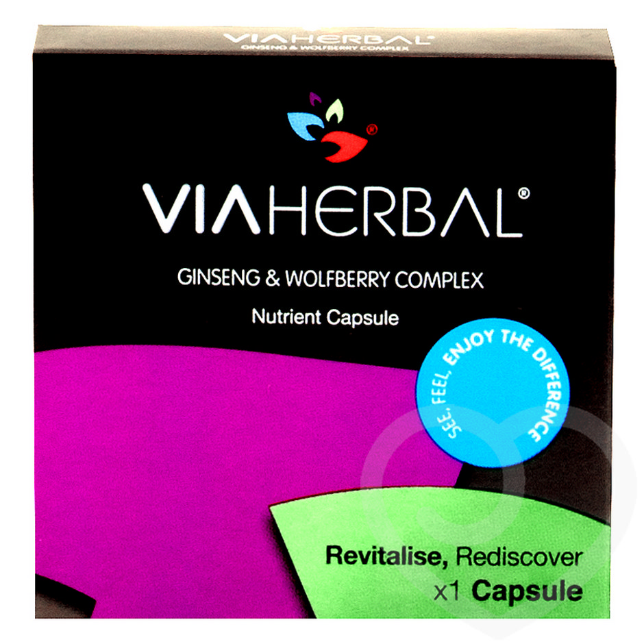 Viaherbal Ginseng & Wolfberry Complex Extracts (1 Capsule)