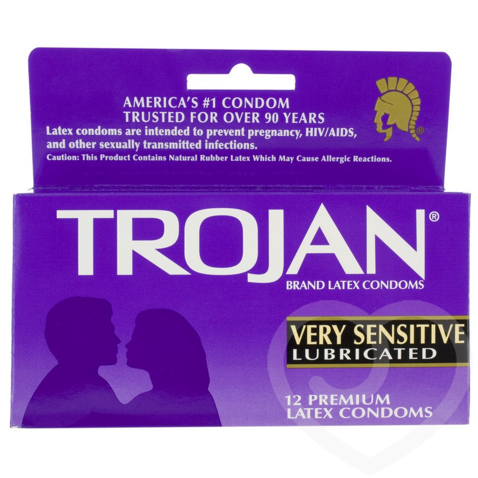 Trojan Very Sensitive Condoms (12 Pack)