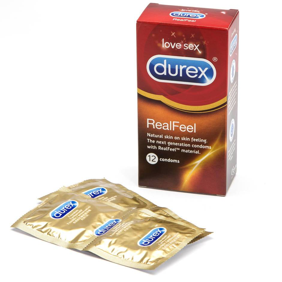 Durex Real Feel Non Latex Condoms (12 Count)