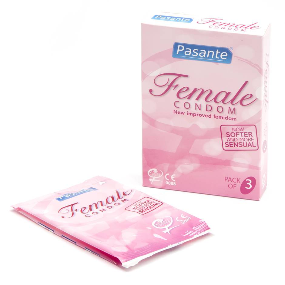 Pasante Frauenkondome (3er Pack)