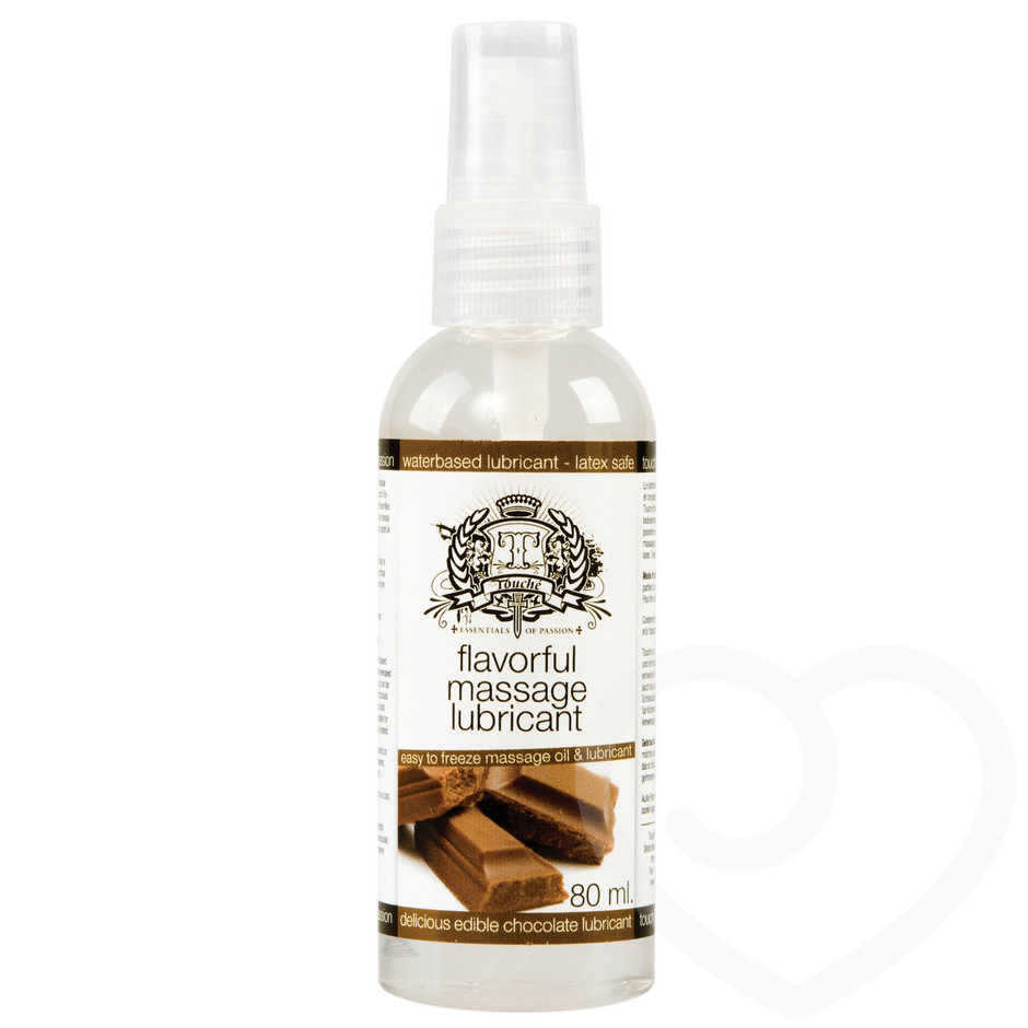 Lubrifiant de massage congelable au chocolat 80 ml par Touché