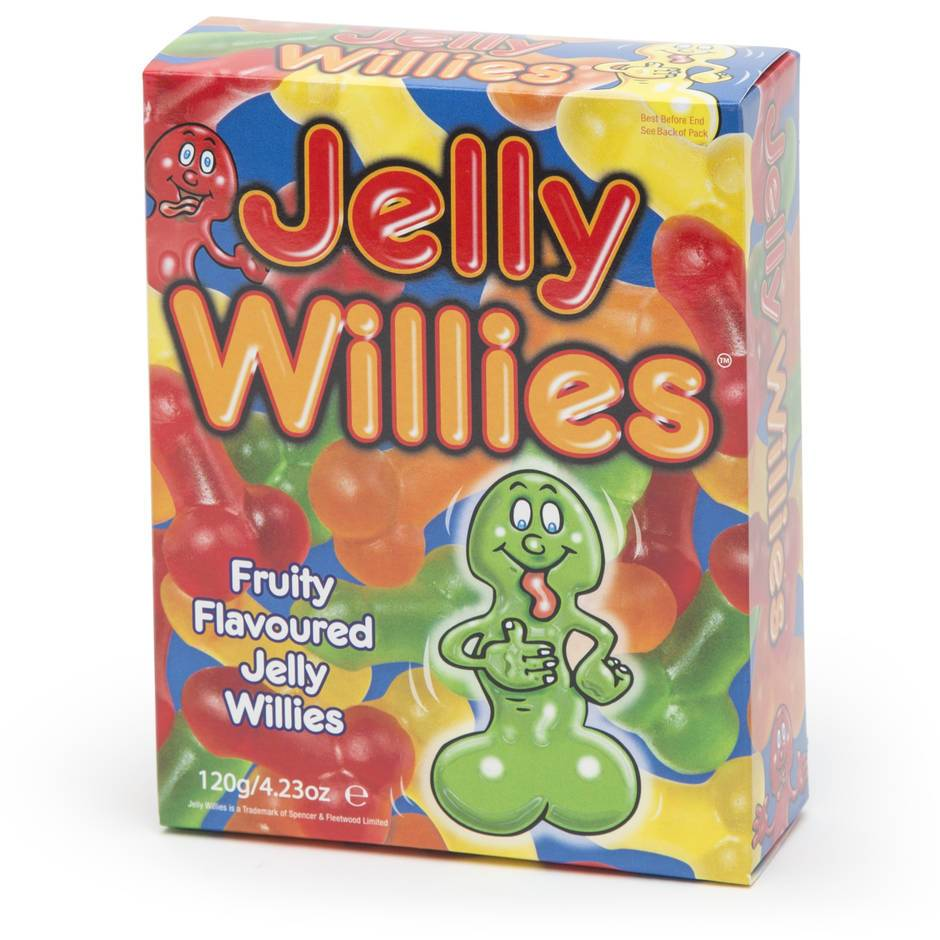 Jelly Willies Sexy Sweets 120g