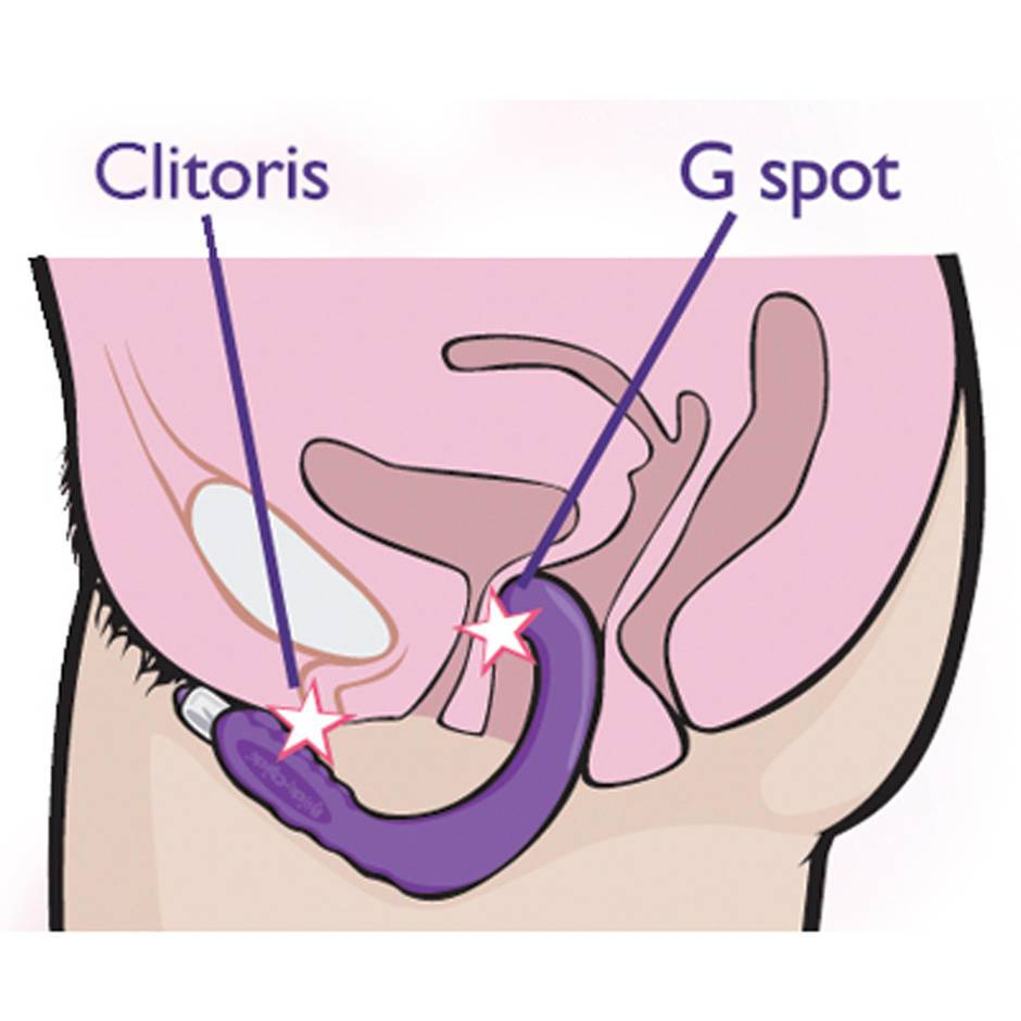 women clitoris and g spot