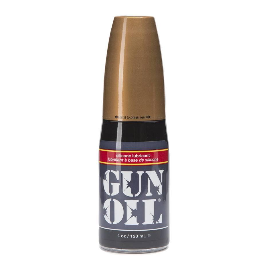 Gun oil anal sex