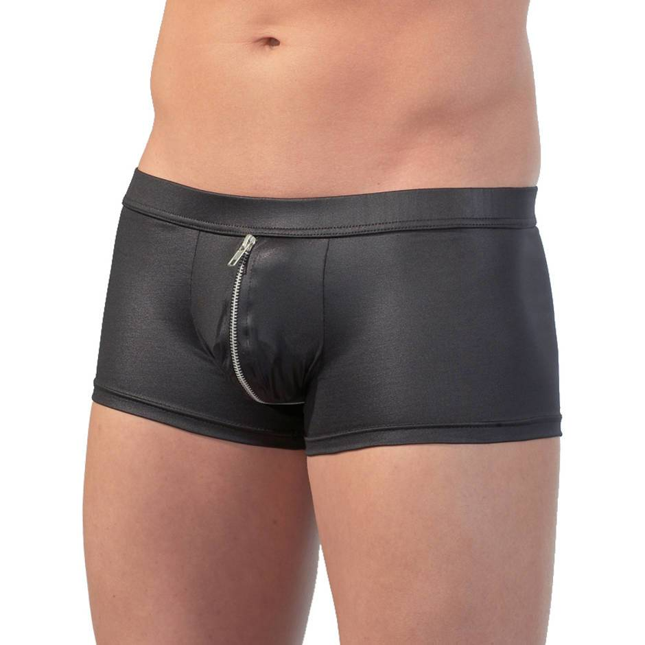 Svenjoyment Zip Up Open Back Shorts