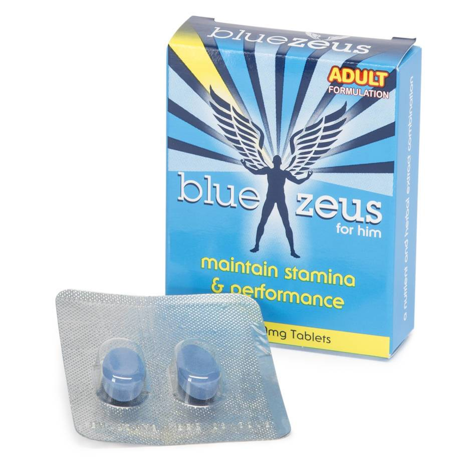 Blue Zeus Pills (2 Tablets)