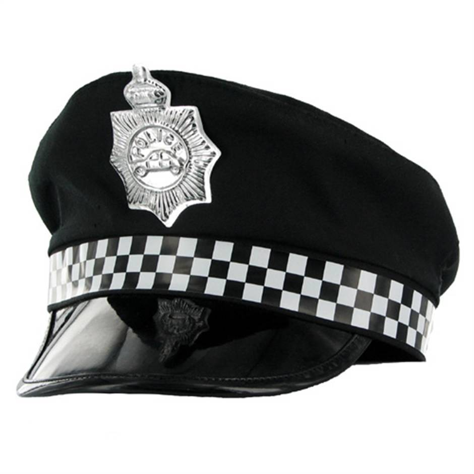Fancy Dress Policewoman Hat