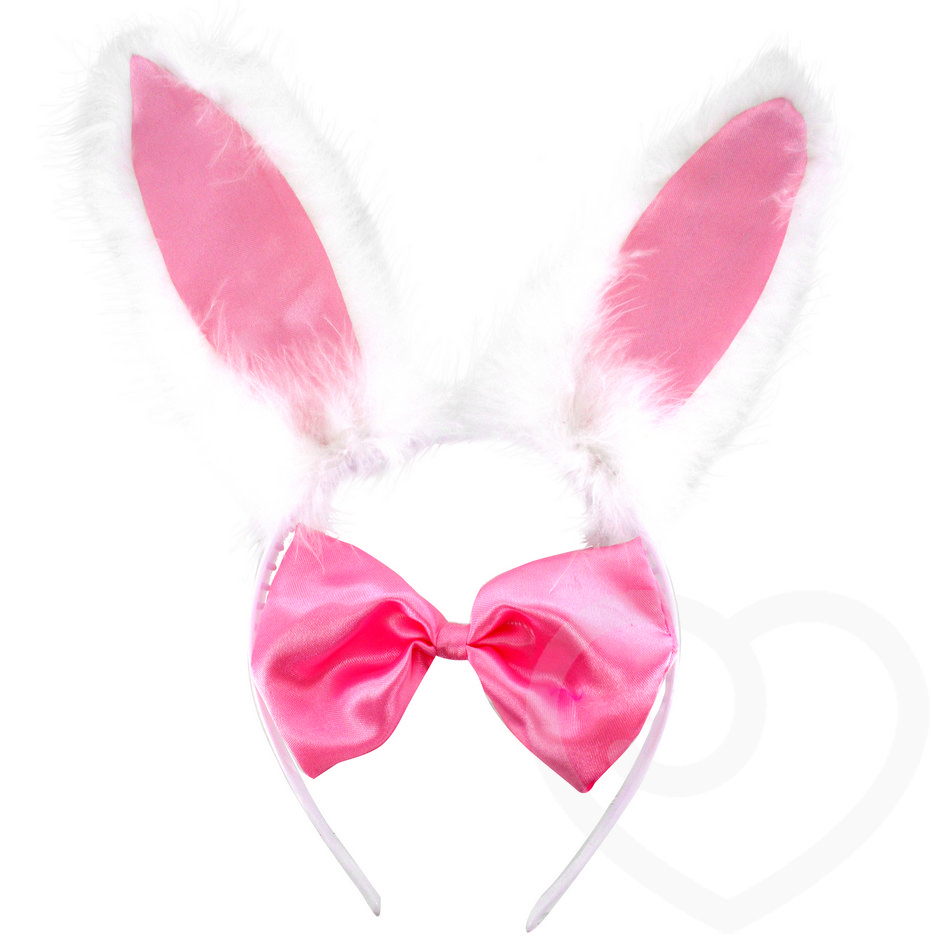 Fluffy Bunny Girl Costume Set