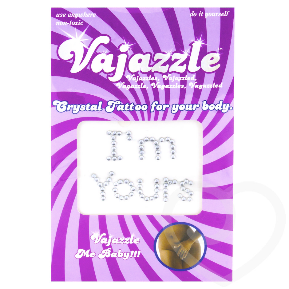 Vajazzle I'm Yours Body Tattoo