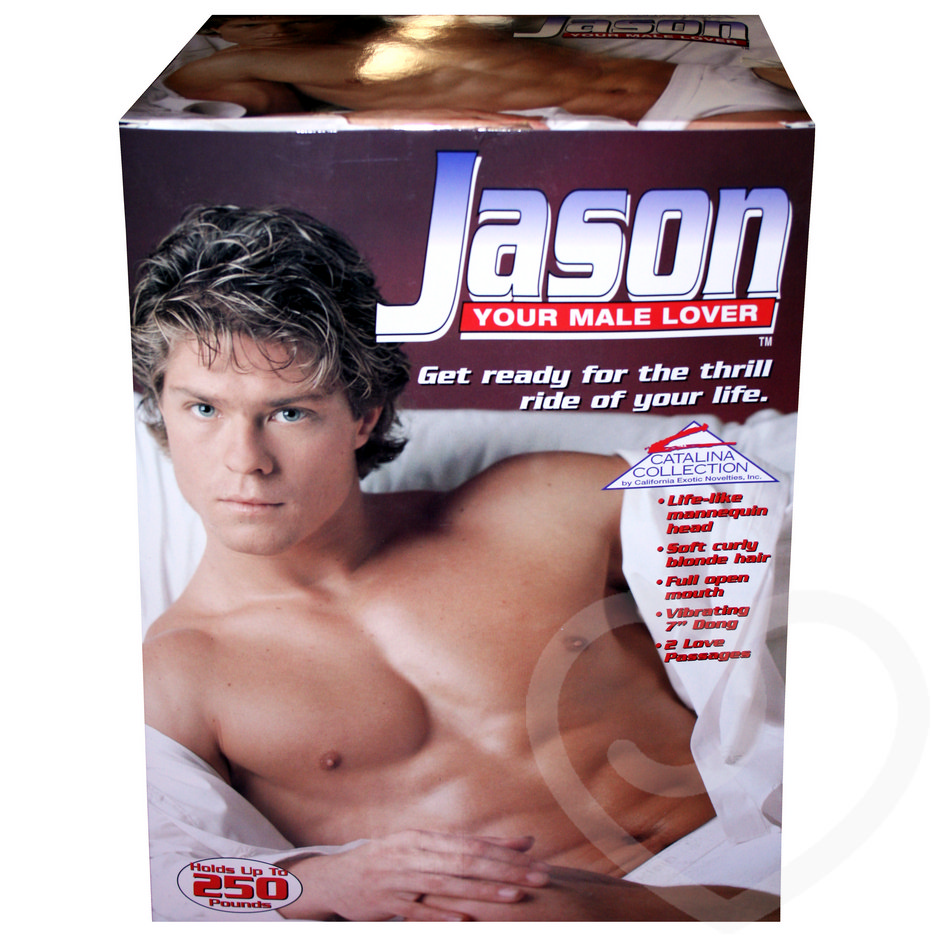 Jason the Male Vibrating Blow-Up Doll