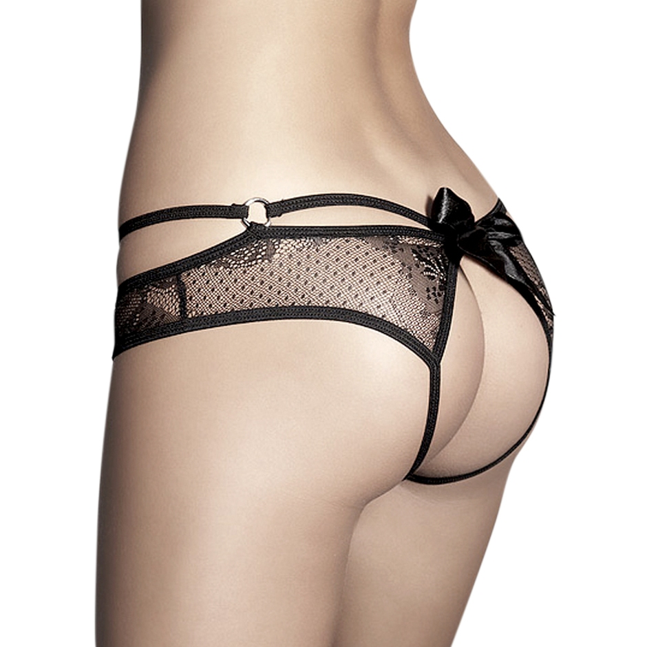 Anais Permission Crotchless Lace Knickers