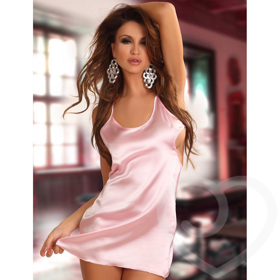 Beauty Night Antoinette Satin Nightdress and G-String