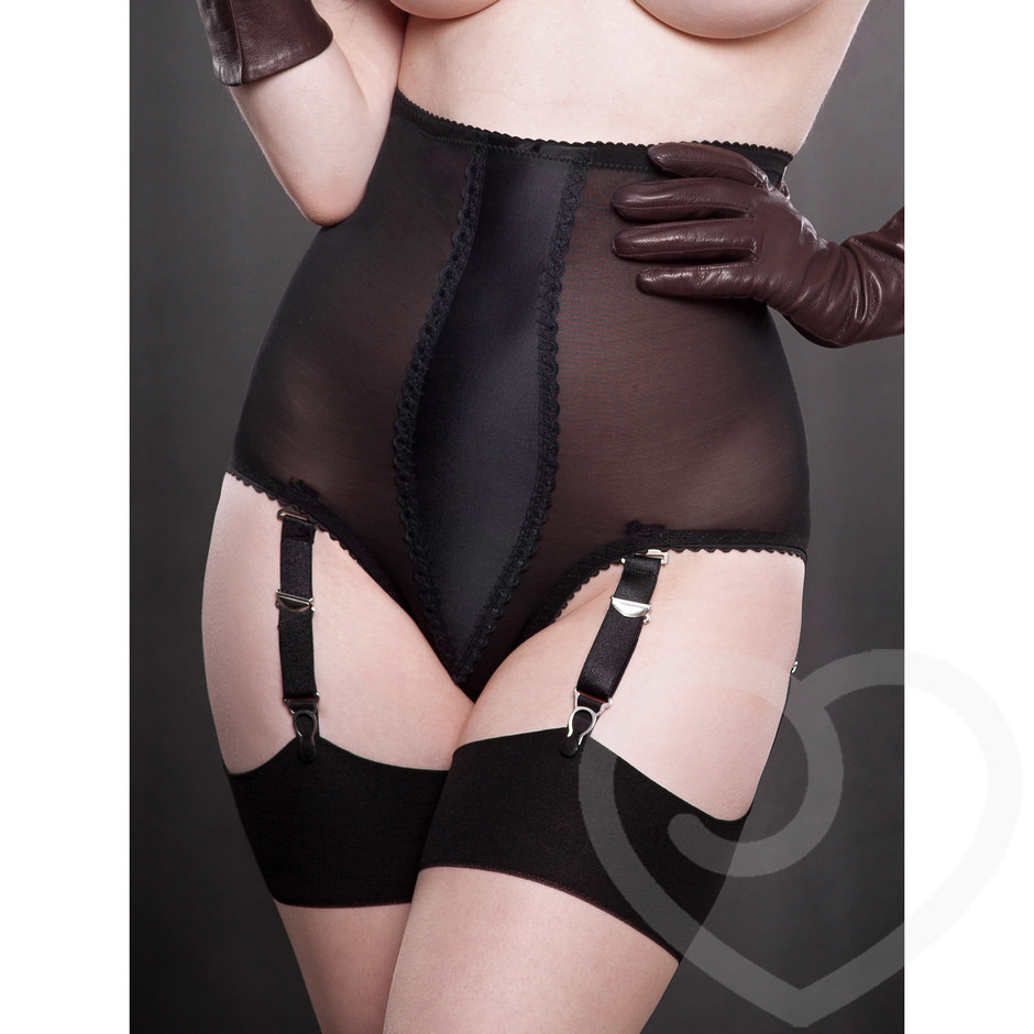 Kiss Me Deadly Vargas 6 Strap Panty Girdle