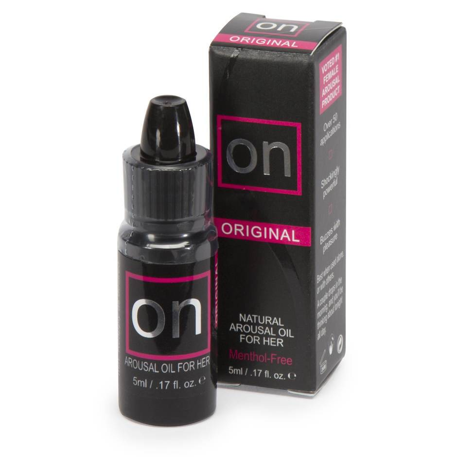 Sensuva ON Natural Arousal Orgasm Oil for Her 0.17 fl. oz