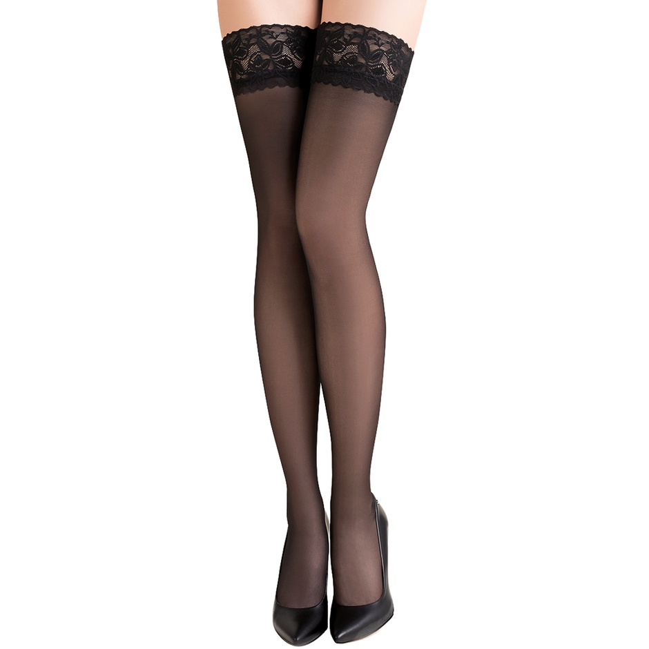 Gabriella Lace Top Sheer Hold-Ups