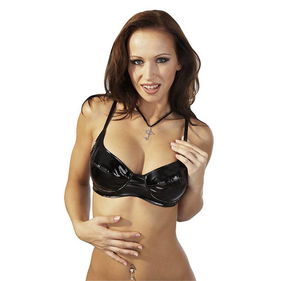 Black Level PVC Balcony Bra