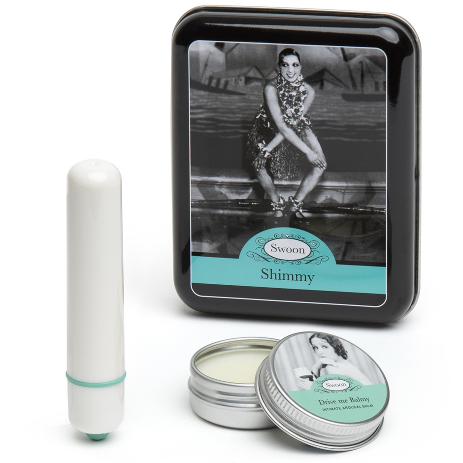 Swoon Shimmy Bullet Vibrator Gift Set (2 Piece)