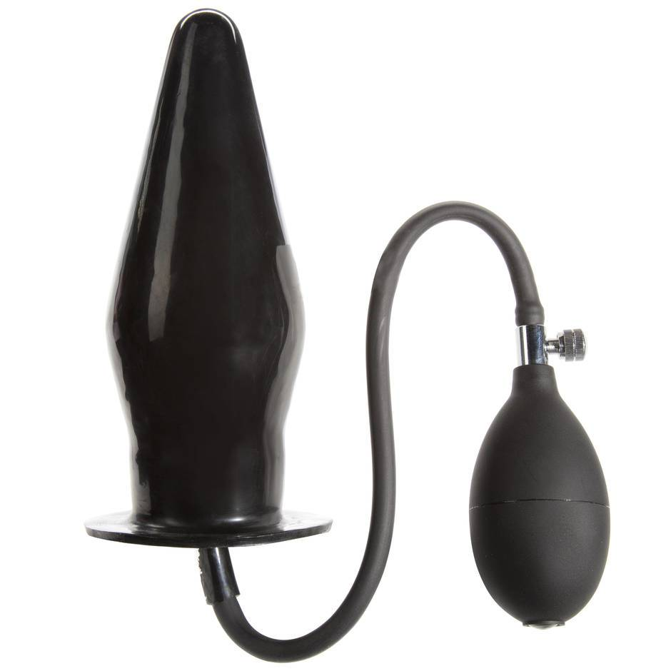 Plug anal géant gonflable en latex par Cock Locker