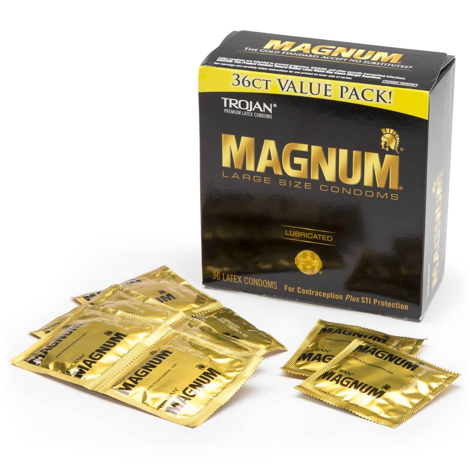 Trojan Magnum Large Condoms (36 Pack)