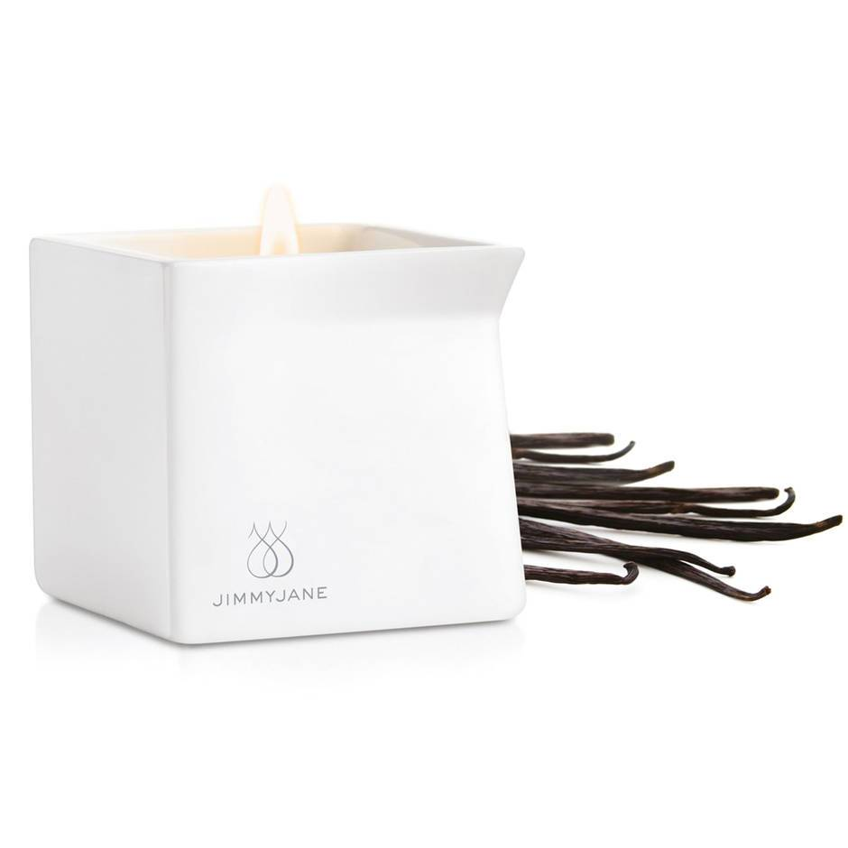 Jimmyjane Afterglow Massage Candle Dark Vanilla 128g