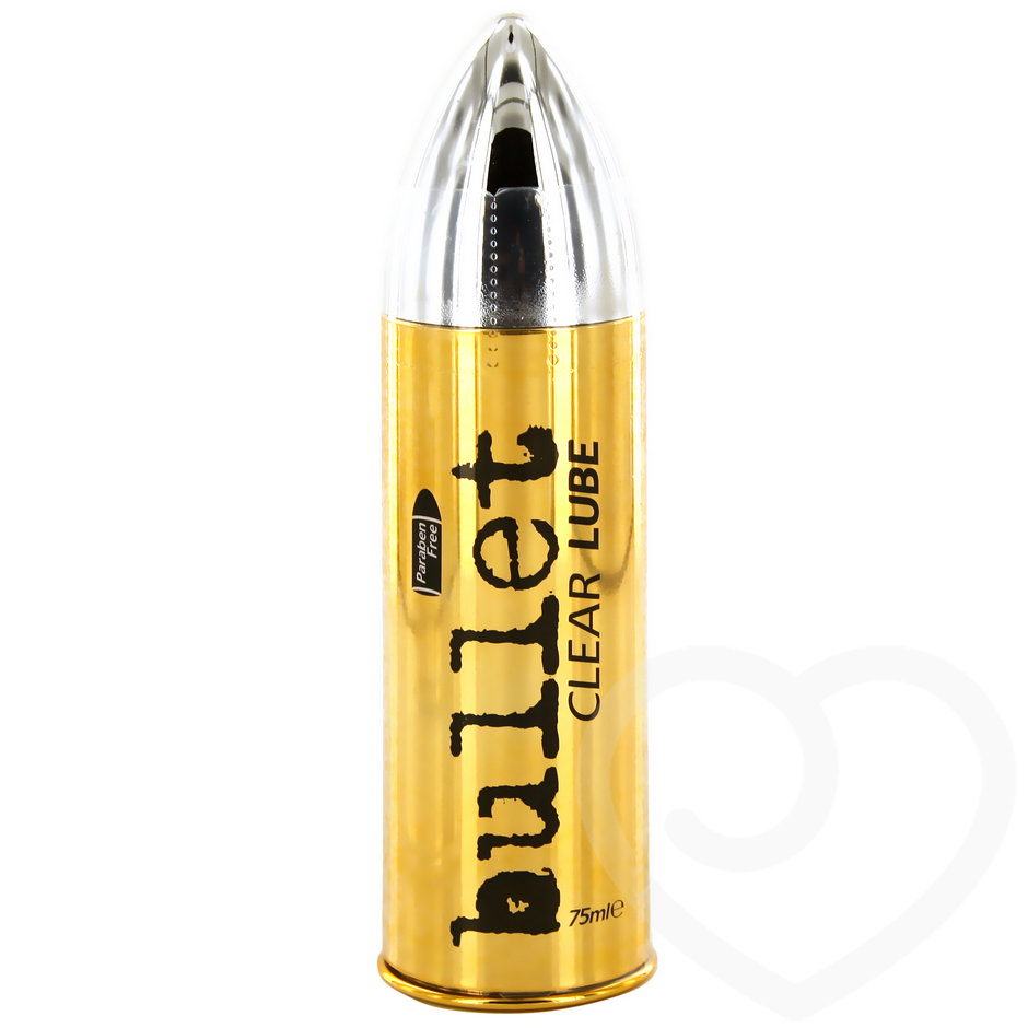 Pasante Bullet Clear Water-Based Lubricant 75ml