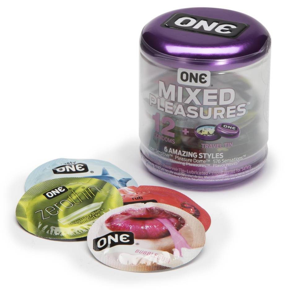 ONE Mixed Pleasures Condoms (12 Count)