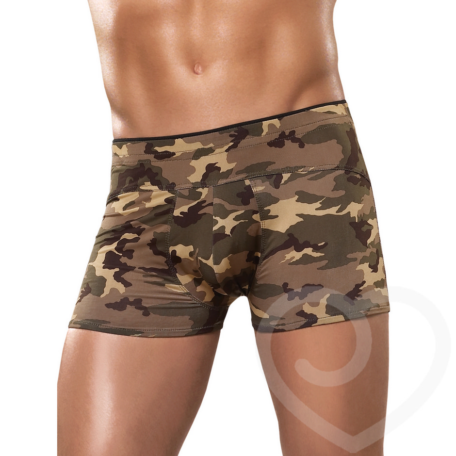 Male Power Camouflage Boxer Shorts