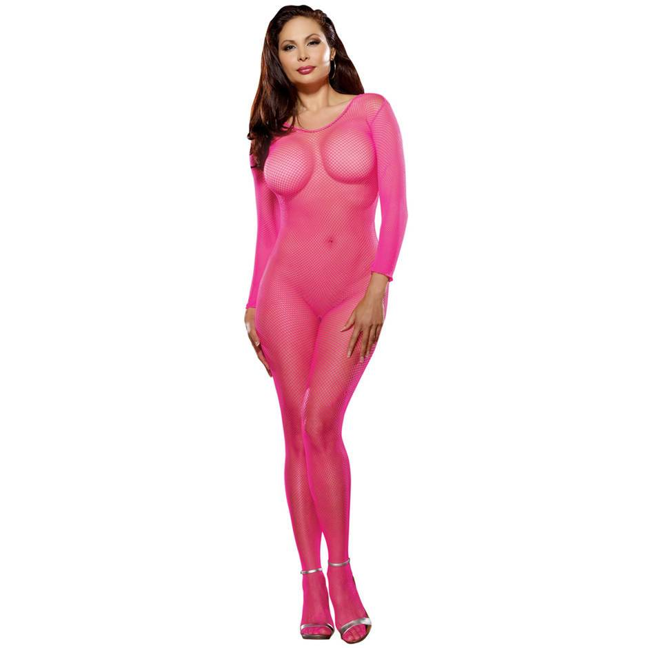 Dreamgirl Plus Size Crotchless Bodystocking