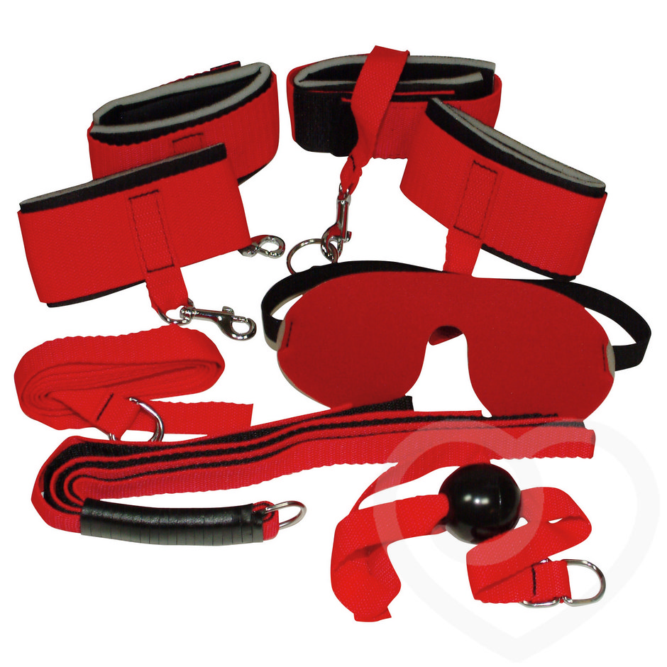 Bad Kitty 5 Piece Bondage Kit