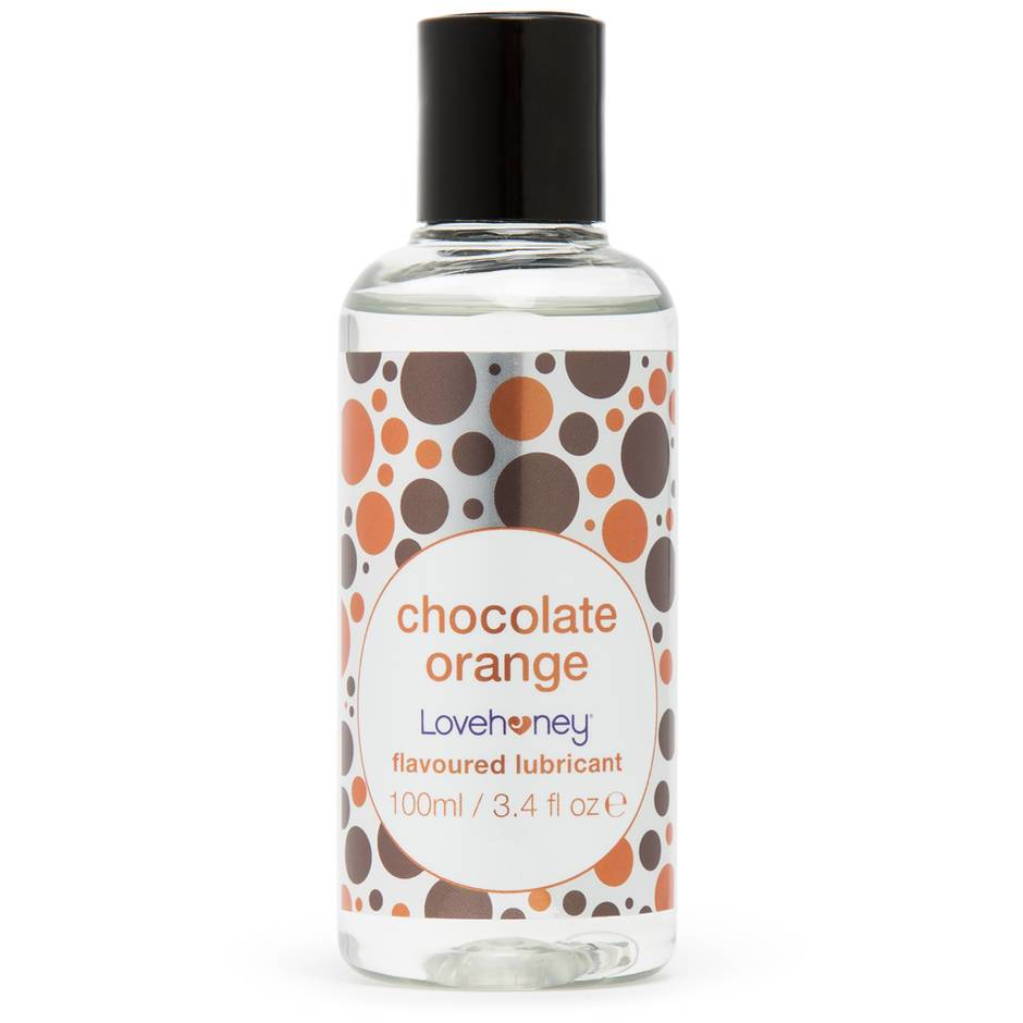 Lovehoney Chocolate Orange Flavoured Lubricant 100ml