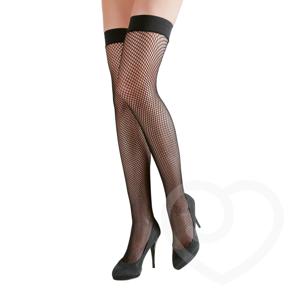 Cottelli Hold Up Fishnet Stockings
