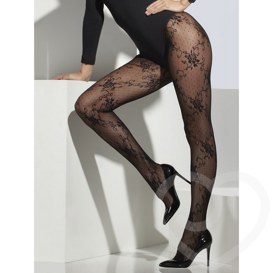 Fever Lace Patterned Tights