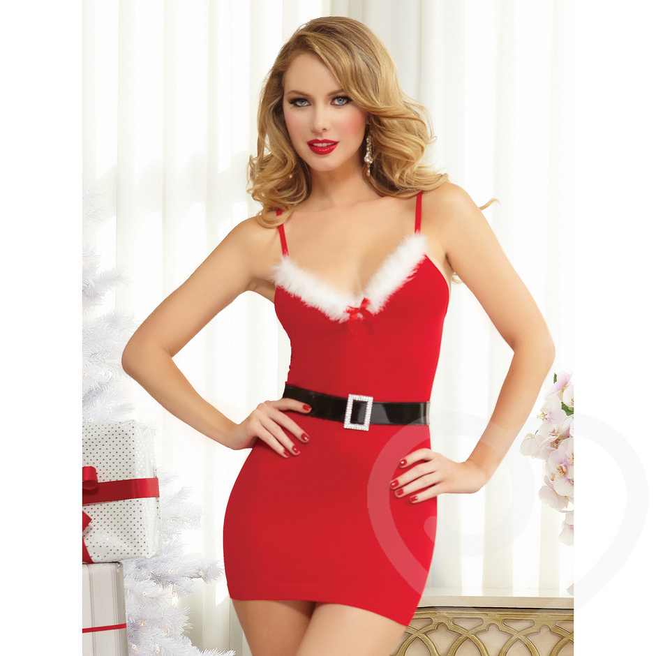 Seven Til Midnight - Saint Kiss - Sexy Santa-Kleid
