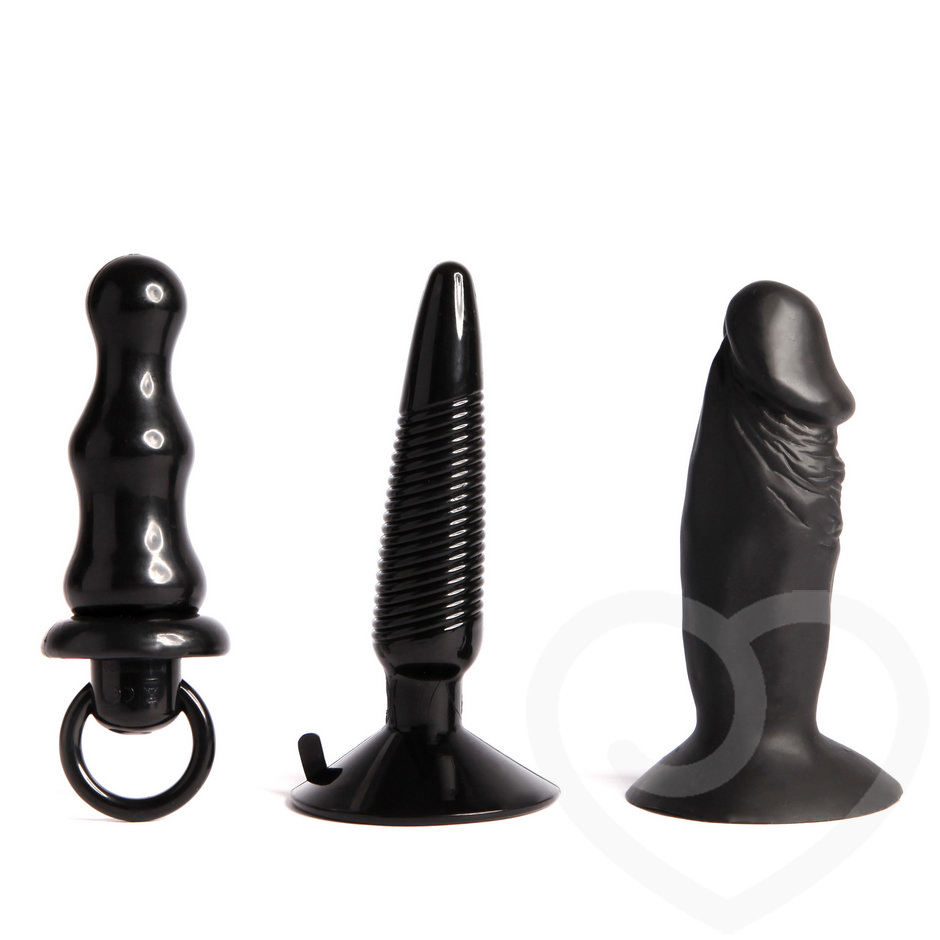 Humper dreifaches Analplug-Set