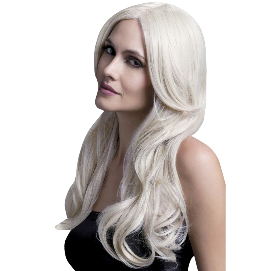 Fever Khloe 26 Inch Long Blonde Wave Wig with Centre Parting