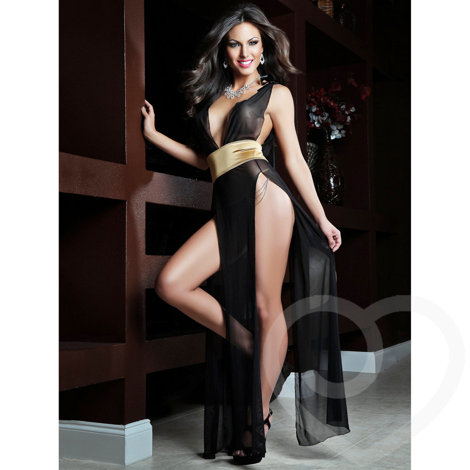 G World Diva Sexy Sheer Dress