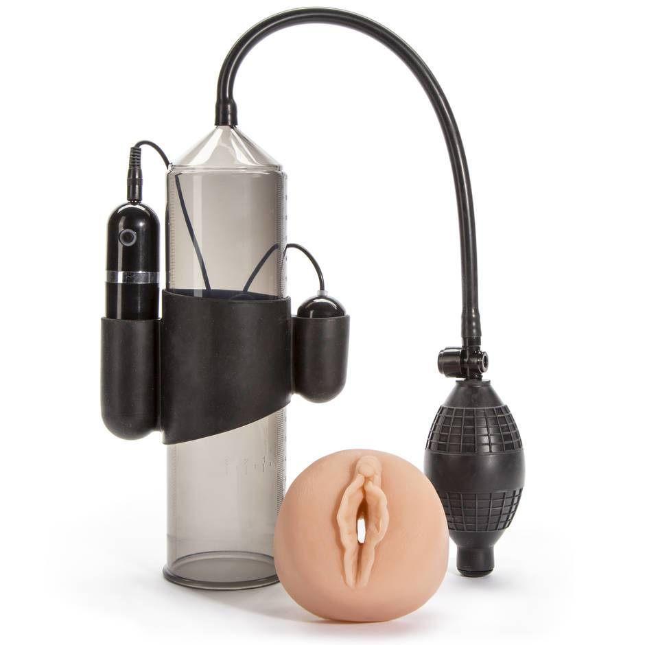 Lust Pumper 10 Function Vibrating Penis Pump