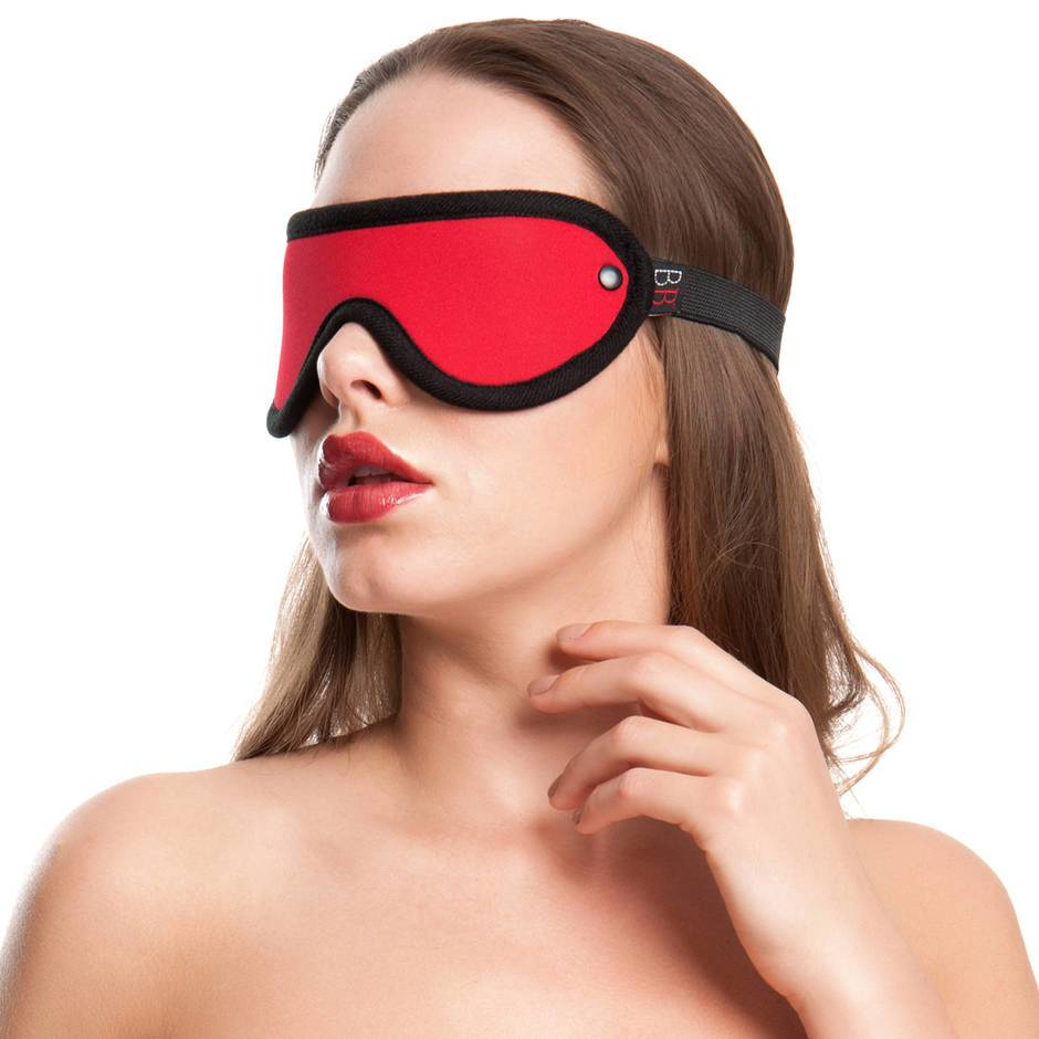 Bondage Boutique Soft Red Blindfold