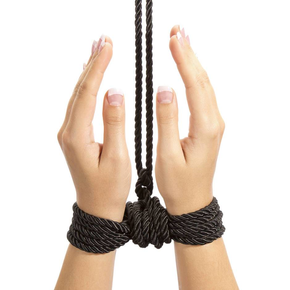Wrist rope techniques bondage
