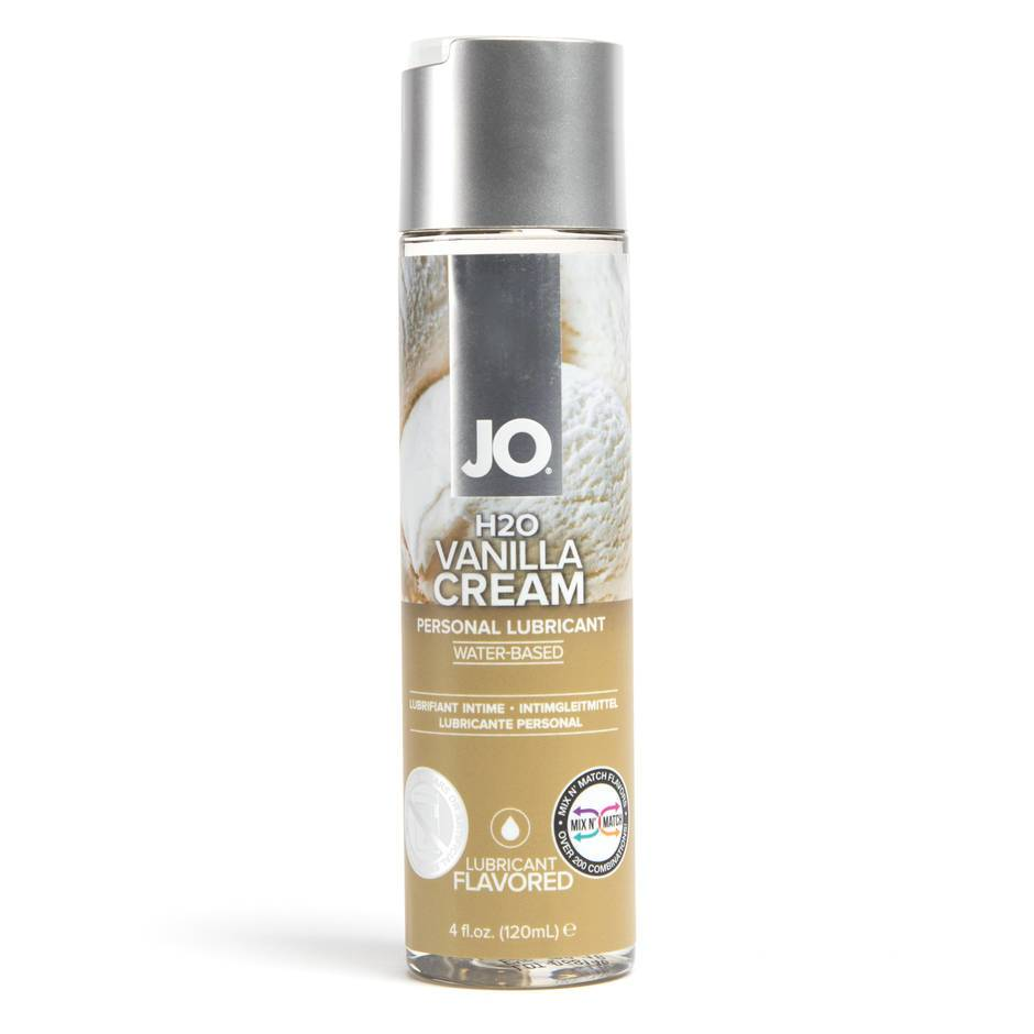 System JO Vanilla Cream Flavoured Lubricant 120ml