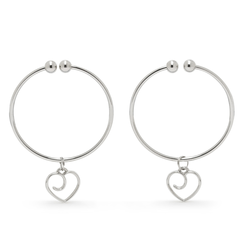 Advanced Nipple Clamps with Heart Charms