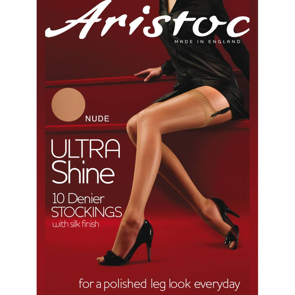 Aristoc Ultra Shine 10 Denier Nude Stockings