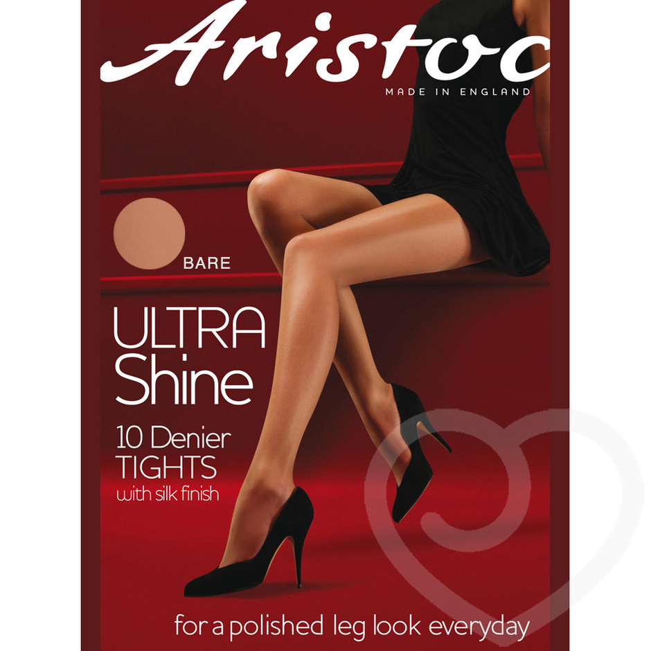 Aristoc Ultra Shine 10 Denier Gold Finish Nude Pantyhose
