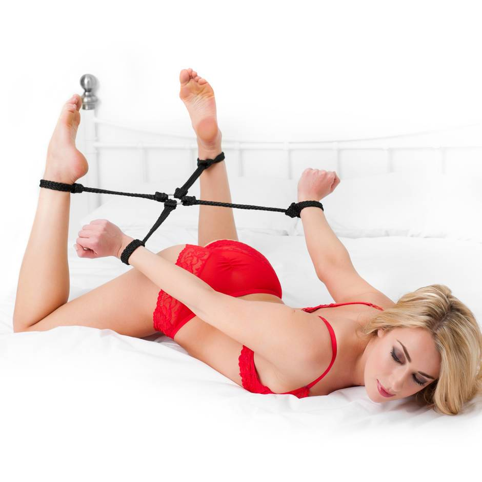 Bondage Boutique Soft Rope Hogtie