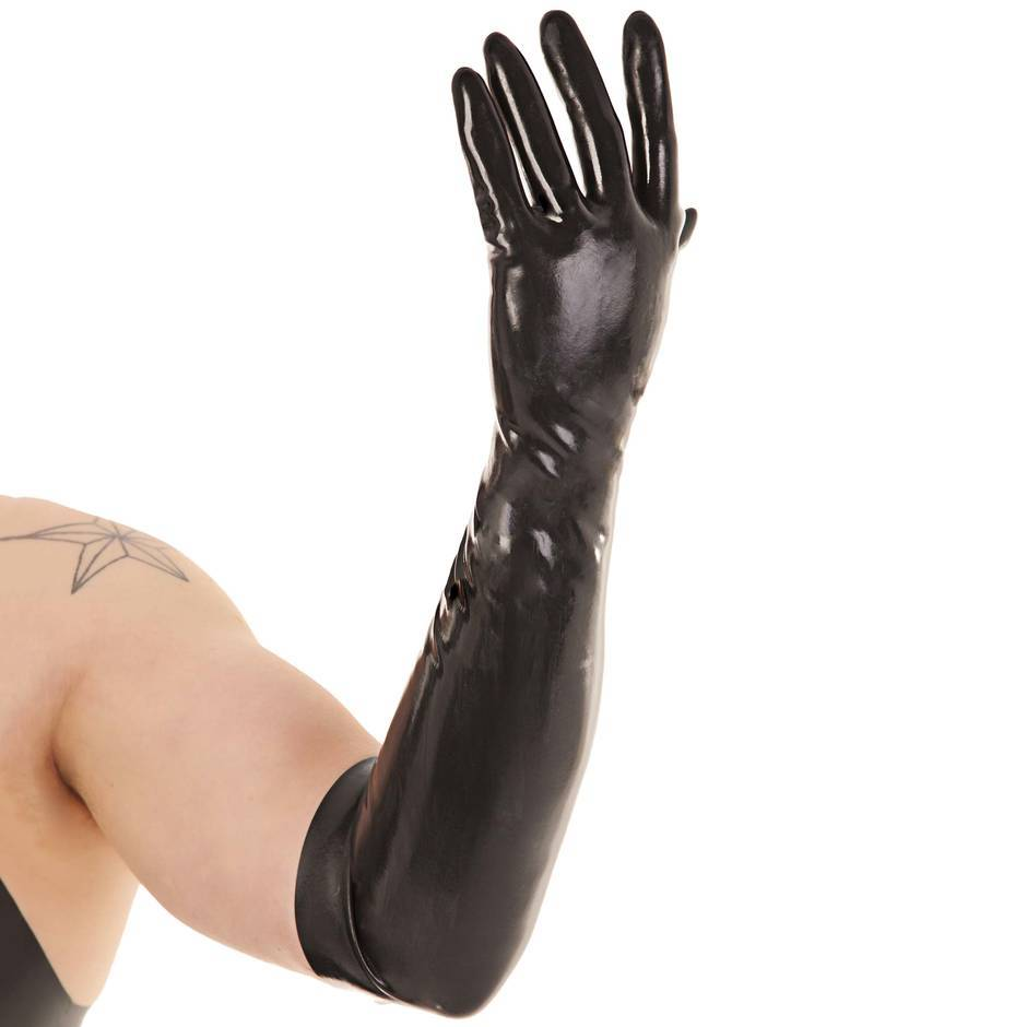 Renegade Rubber Long Latex Gloves