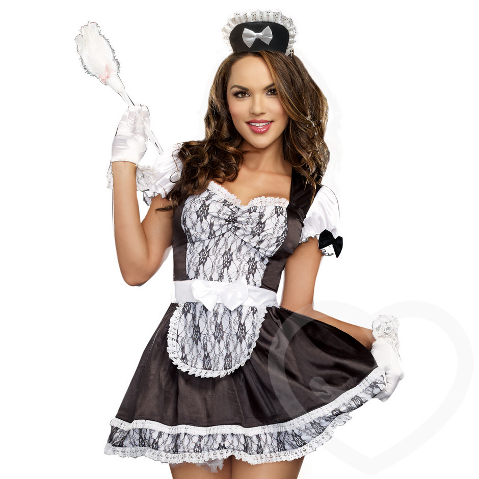 Dreamgirl Maid For You French Maid Costume Set