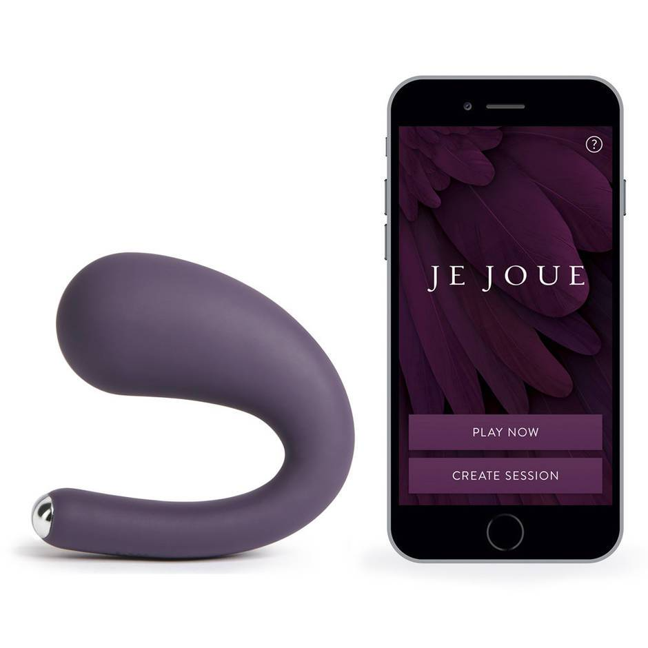 Je Joue Dua App Controlled Rechargeable G-Spot and Clitoral Vibrator