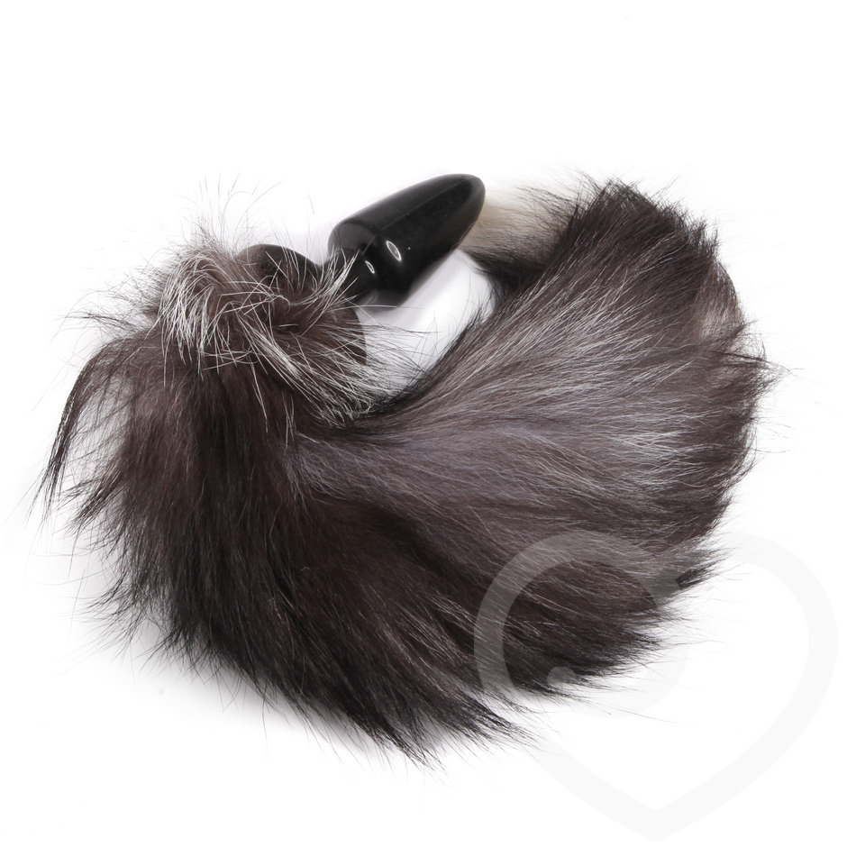 Frisky Faux Fur Animal Tail Butt Plug